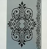 - Šablóna Stamperia - 20x30 cm - tapeta, folk, ornament - 8570417_