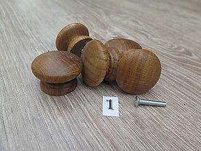 Dekorácie - Nábytková úchytka drevená 1 - 8571661_