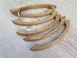 Dekorácie - Nábytková úchytka drevená 9 - 8572549_