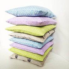 Úžitkový textil - Levanduľový vankúšik - 8570465_