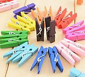 ST109 Mini štipce farebné 3,0 cm