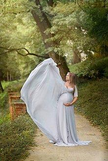 Tehotenské/Na dojčenie - Šaty na fotenie - 8569044_