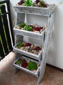 Nádoby - Poschoďový balkónový kvetináč - 8572523_