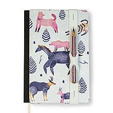 Papiernictvo - Zápisník A6 Les - 8568962_