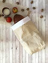 - Podšité vrecko na chlieb a pečivo 3v1 - 8570676_