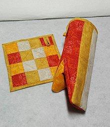 Úžitkový textil - Chňapka set - 8575719_