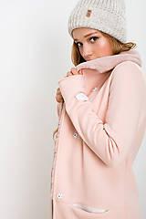 Kabáty - Kardigan Pink Poney (M) - 8574783_