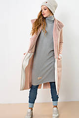 Kabáty - Kardigan Pink Poney (M) - 8574784_