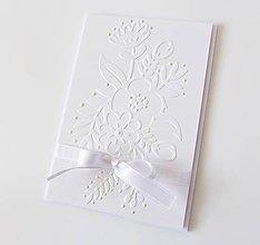 Papiernictvo - pohľadnica svadobná - 8574356_
