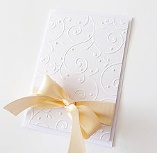 Papiernictvo - pohľadnica svadobná - 8574357_