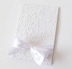 Papiernictvo - pohľadnica svadobná - 8574370_