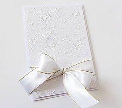 Papiernictvo - pohľadnica svadobná - 8574384_