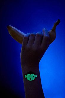 Nezaradené - Dočasné tetovačky - Svietiace s LEMUROM (21) - 8573532_
