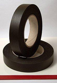 Papier - Chrbátová páska 50m - šírka 25mm - čierna - 8576415_