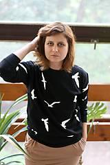 Mikina Čajky (čierna)