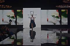 Sukne - Zavinovacia sukňa LEONA - modrotlač - 8573408_