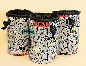 Pre zvieratká - Snack bag ,,dogs