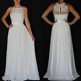 Šaty - Svadobné šaty s holými ramenami a tylovou sukňou - 8574696_