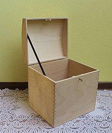 Polotovary - kvalitná masívna krabica - 8573298_