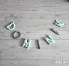 Detské doplnky - Písmená XL pre ...DOMINIK - 8575391_
