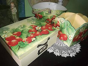 Krabičky - jahôdková sada - 8575525_