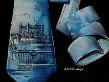 Doplnky - Hodvábna kravata-Bratislava - 8574943_