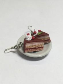 Náušnice - Náušnice dortíky se šlehačkou - 8580597_