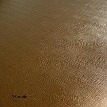 Iný materiál - 794 Ekokoža saténová zlatá - 8579729_