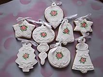Dekorácie - sada vianočných medovníkov - 8579243_