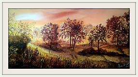 Obrazy - cestičkou poľnou kráčať budem.... - 8579260_