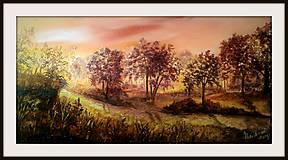 Obrazy - cestičkou poľnou kráčať budem.... - 8579261_