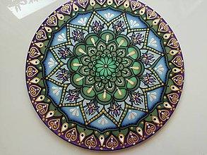 Dekorácie - Mandala zdravia a uzdravenia - 8578157_