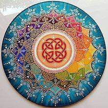Dekorácie - Mandala šťastia a energie - 8578176_