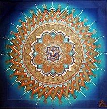 Obrazy - Mandala vedomého vnímania a intuície - 8578308_