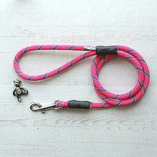 Pre zvieratká - Lanové vodítko ORIGINAL // raspberry 10 mm - 8580090_