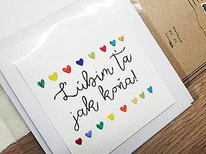 Papiernictvo - Ľúbim ťa jak koňa - 8577047_
