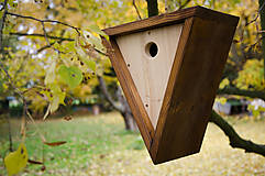 Pre zvieratká - Vtáčia búdka Triangel - 8578386_
