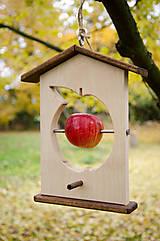 Pre zvieratá - Vtáčie krmítko Jablko - 8579015_