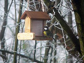 Pre zvieratká - Vtáčie krmítko Lojovník - 8579118_