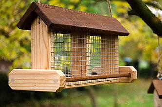 Pre zvieratká - Vtáčie krmítko Lojovník XL - 8579152_