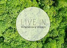 Suroviny - Islandský aranžérsky mach (stredne zelená)- Island moss - 8580352_