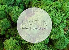 Suroviny - Islandský aranžérsky mach farba podľa výberu - Island moss - 8580444_