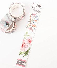 """Papier - WASHI / papierová páska na tvorenie """"lapač snov"""" - 8579814_"""