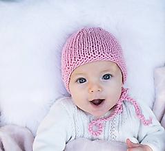 Detské čiapky - Bavlnená čiapočka STARORUŽA - 8581256_