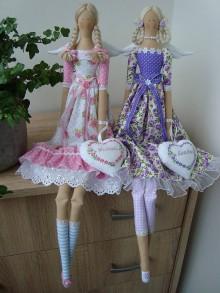 Bábiky - Kvetinkové anjelky na želanie - 8582585_
