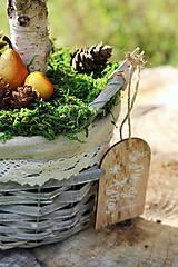 Dekorácie - Jesenná dekorácia - 8582497_