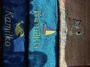 Úžitkový textil - uteráčik do škôlky - 8582800_