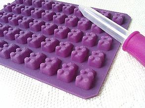 Pomôcky/Nástroje - Silikónová forma Gummy Bears - 8582636_