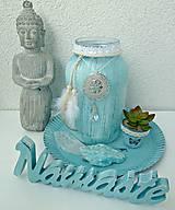 Svietidlá a sviečky - Namaste dekorácia svietnik a doplnky AKCIA - 8583081_