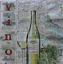 Papier - víno - 8582278_